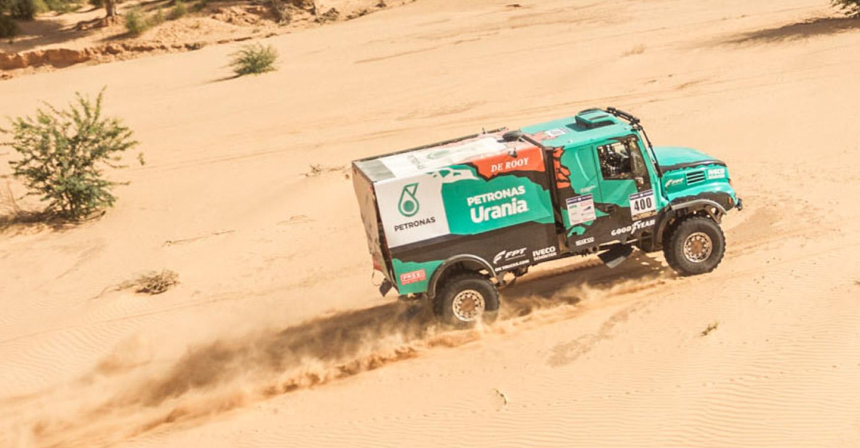 Powering to a win in the 2016 Dakar rally